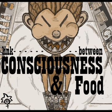 link between consciousness and food - BeHumanNotaZombie.com