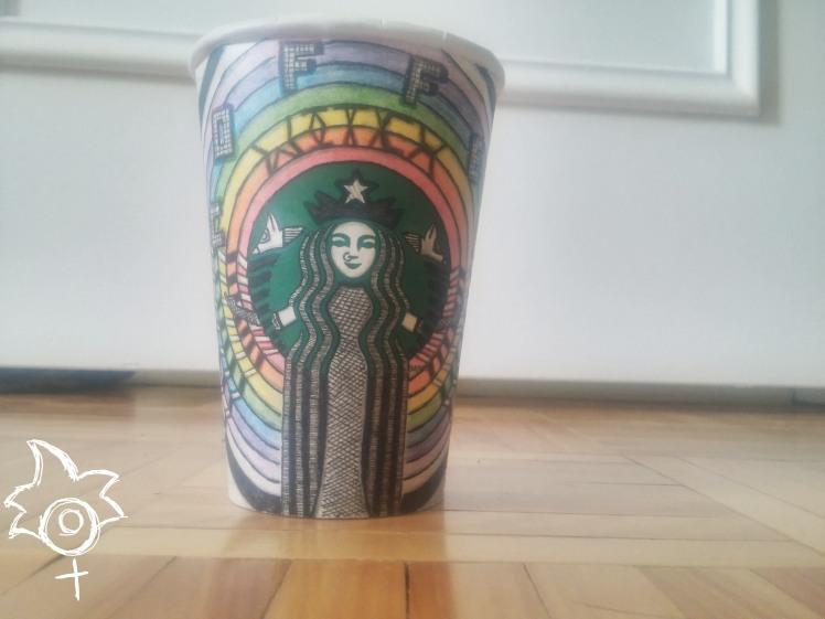 Starbucks Cup Doodle - BeHumanNotaZombie.com