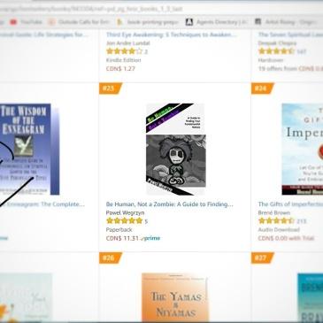 Best Seller 23 - Amazon.ca - BeHumanNotaZombie.com