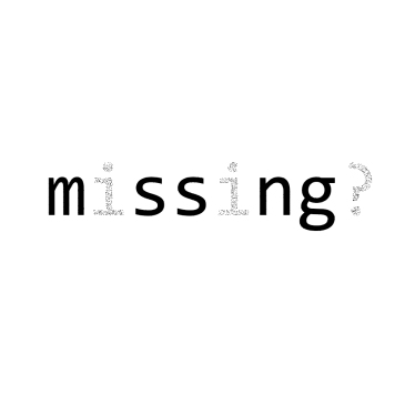 missing - BeHumanNotaZombie.com