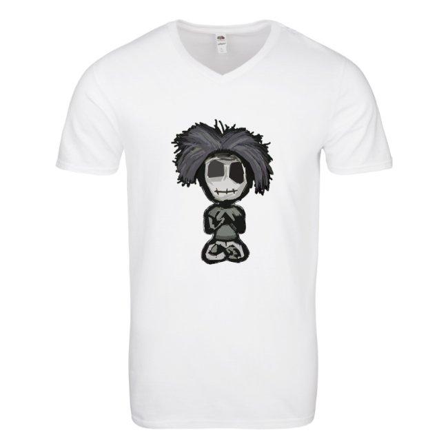 White V Tee - behumannotazombie.com