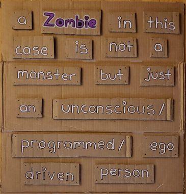 a Zombie definition - BeHumanNotaZombie.com