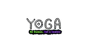 Yoga Card Back - BeHumanNotaZombie.com
