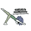 One Legged Downward Dog - BeHumanNotaZombie.com