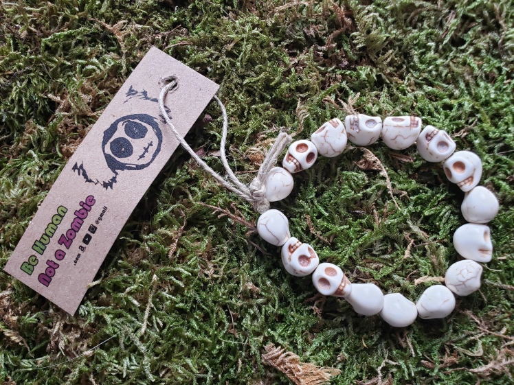 Facing Death Bracelet - BeHumanNotaZombie.com